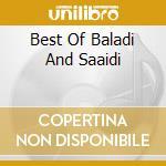 BEST OF BALADI AND SAAIDI cd musicale di Hossam Ramzy