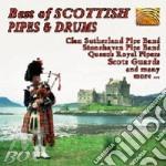 BEST OF SCOTTISH PIPES & DRUMS cd musicale di ARTISTI VARI