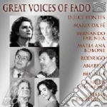 GREAT VOICES OF FADO cd musicale di ARTISTI VARI