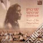 MUSIC OF THE PLAINS INDIANS cd musicale di POW WOW SONGS