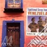 TRADITIONAL SONGS FROM VENEZUELA cd musicale di DE NORTE A SUR
