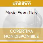 TRADITIONAL MUSIC FROM ITALY cd musicale di ARTISTI VARI