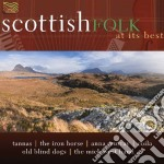 SCOTTISH FOLK AT ITS BEST cd musicale di Artisti Vari