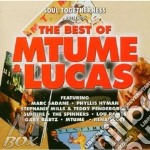 THE BEST OF cd musicale di MTUME & LUCAS