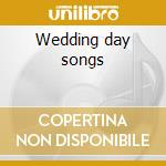 Wedding day songs cd musicale