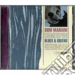 HOMESPUN BLUES & GREENS cd musicale di DOM MARIANI
