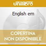 English em cd musicale