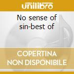No sense of sin-best of cd musicale di Eaters Lotus