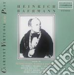 Baermann Heinrich Interpreta Mendelssohn, Weber, Baermann cd musicale
