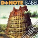 BABEL cd musicale di D-NOTE