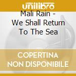 We shall return to the sea cd musicale