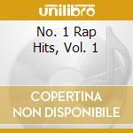 NO.1 RAP HITS VOL.1 cd musicale di ARTISTI VARI