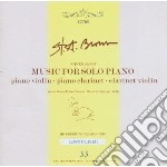 Brown, Steven - Music For Solo Piano cd musicale di Steven Brown