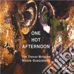 ONE HOT AFTERNOON cd musicale di TREVOR-BRISCOE/GUAZZ