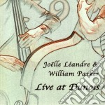 Joelle Leandre & William Parker - Live At Dunois cd musicale di JOELLE LEANDRE & WIL