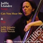 Can you hear me cd musicale di Joelle leandre tente