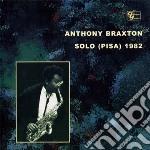 SOLO (PISA) 1982 cd musicale di BRAXTON ANTHONY