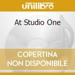 AT STUDIO ONE cd musicale di BURNING SPEAR