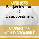 The art of disappointment cd musicale