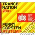 TRANCE NATION 2001(2CD) cd musicale di M.O.S./ARTISTI VARI