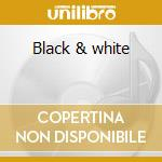 Black & white cd musicale