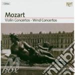 Violin concertos - wind concertos cd musicale di Wolfgang Amadeus Mozart