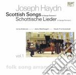 Scottish songs vol.1 cd musicale di Haydn franz joseph