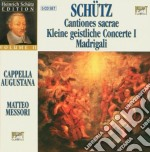 Canzoni sacre cd musicale di Schutz
