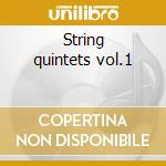String quintets vol.1 cd musicale di Boccherini