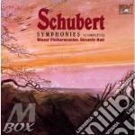 Symphonies (complete) cd musicale di Schubert