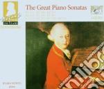Le grandi sonate x pianoforte cd musicale di Wolfgang Amadeus Mozart