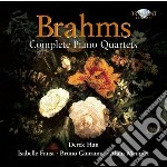 Quartetti per pianoforte cd musicale di Brahms