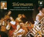 Telemann - Ouvertures Vol. 1 Fc cd musicale