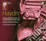 Quartetti per archi op.77 cd musicale di Haydn