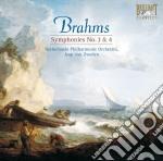Brahms Johannes - Sinfonie Nn. 3-4 /netherlands Philharmonic Orchestra, Jaap Van Zweden cd musicale
