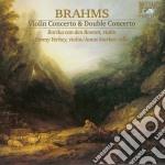 Brahms Johannes - Concerto Per Violino Op.77 - Concerto Doppio Per Violino E Violoncello Op.102  - Starker Janos  Vc/borika Van Den Booren, Violino, B cd musicale