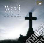 Verdi Giuseppe - Messa Da Requiem cd musicale
