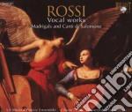 Vocal works cd musicale di Rossi