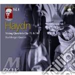 String quartets op.71 & 74 cd musicale di Haydn