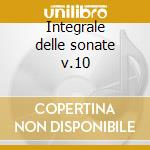 Integrale delle sonate v.10 cd musicale