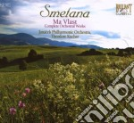 Complete orchestral works cd musicale di Smetana