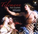 Telemann Georg Philip - Quartetti Parigini  (3 Cd) cd musicale di Telemann