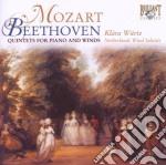 Mozart/beethoven- Quintetti Per Pianofor cd musicale di Mozart/beethoven