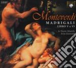 Monteverdi Claudio - Madrigali, Libri 5 E 6  (2 Cd) cd musicale di Monteverdi