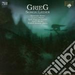 Songs cd musicale di Edvard Grieg