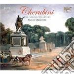 The string quartets cd musicale di Luigi Cherubini
