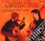 Sor Fernando - Integrale Dei Duetti Per Chitarra: L'encouragement Op.34, 6 Walzer Op.39  (2 Cd) cd musicale di Fernando Sor
