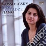 Mussorgsky Modest Petrovich - 'quadri Da Un'esposizione' E 10 Altri Pezzi Per Pianoforte cd musicale di Mussorgsky modest pe
