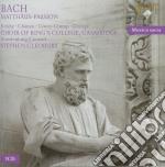Passione secondo matteo cd musicale di Bach