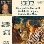 Schutz- Kleine Geistliche Concerte Ii Fc cd musicale di Brilliant
